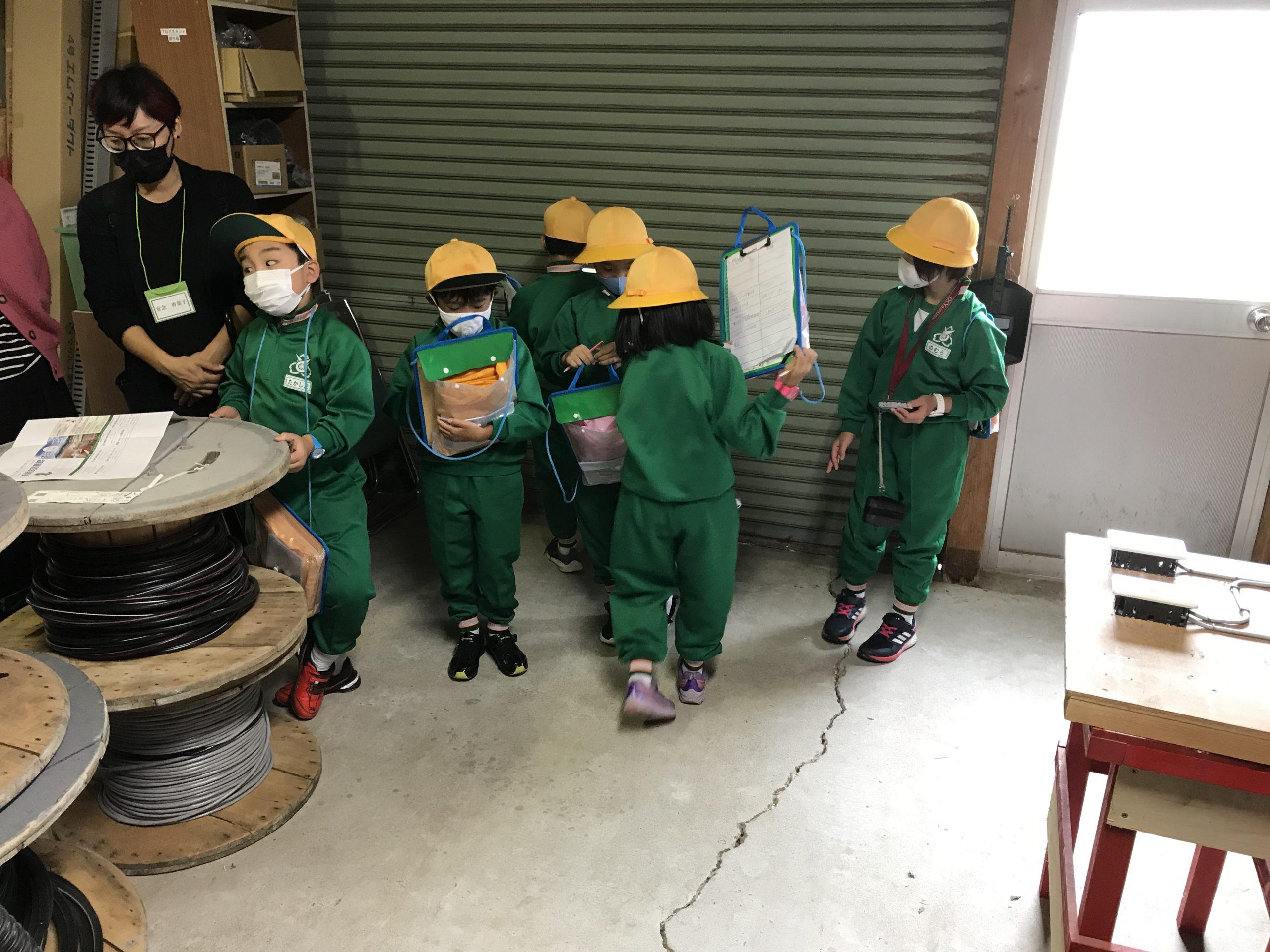 庄南小学校2年生地区探検